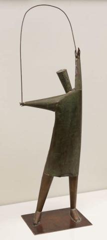C. van Gulik (1938) - Vrouw die touwtje springt.
