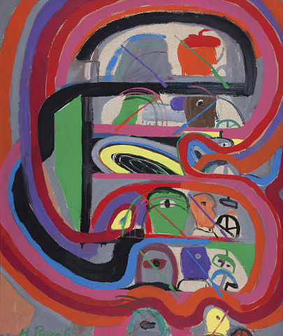 Heimrad Prem (1934-1978) - Autocircuit. Ges. L.O. en '65.