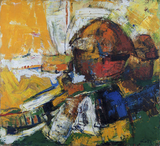 W. Motz (1900-1977) - Zomerland. Ges. R.O.