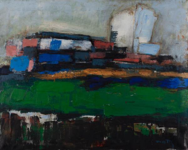 W. Motz (1900-1977) - Polder. Ges. R.O.