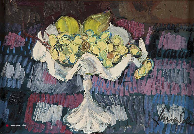 X. Soler - Fruitschaal. Ges. R.O. en '65