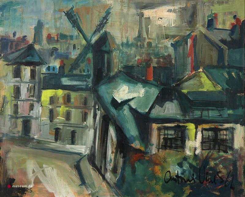A. Vives Fierro (1940) - Moulin de la Galette. Ges. R.O. en '62.