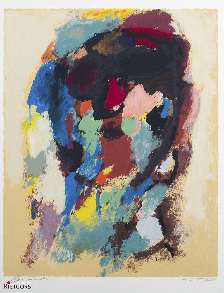 E. Brands (1913-2002) - Portret. Ges. L.O. en 21/30.