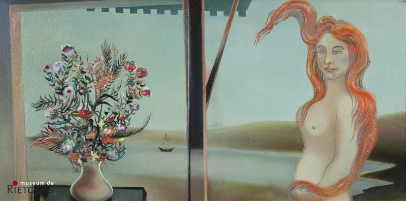 D. Henkes (1903-1989) - Hommage à Botticelli. Ges. R.B.