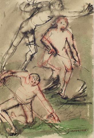 C. Giovannoni - Figuurstudies
