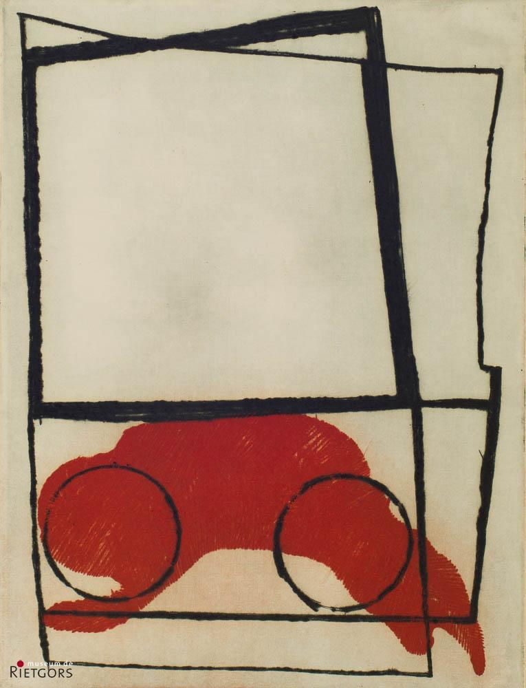 C. van Gulik (1938) - Couveuse-baby (zijn zoon).