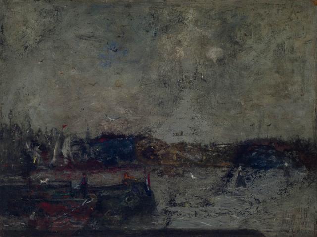 M.B.W. Dittlinger (1864-1934) - Binnen-Amstel, Amsterdam.