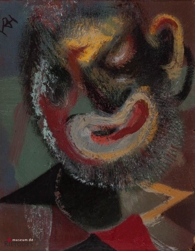D. Henkes (1903-1989) - Clownskop. Ges. L.B.