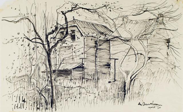 A. Mouthaan (1940) - Kraaihoek, Papendrecht. Ges. R.O.