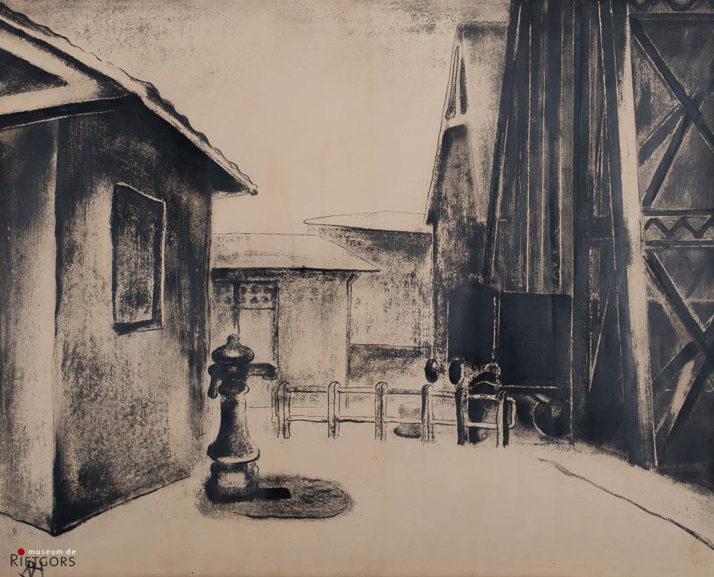 D. Henkes (1903-1989) - Oude loodsen HAL. Ges. L.O.