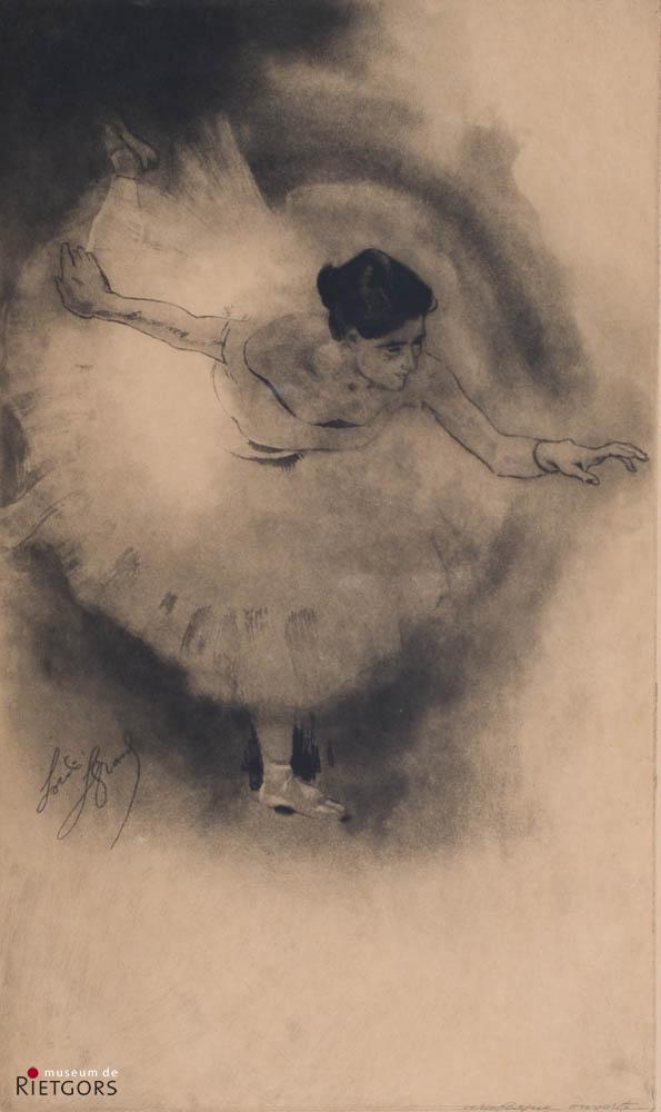 """L. Legrand (1863-1951) - """"Arabesque ouverte"""". Danseres. Ges."""