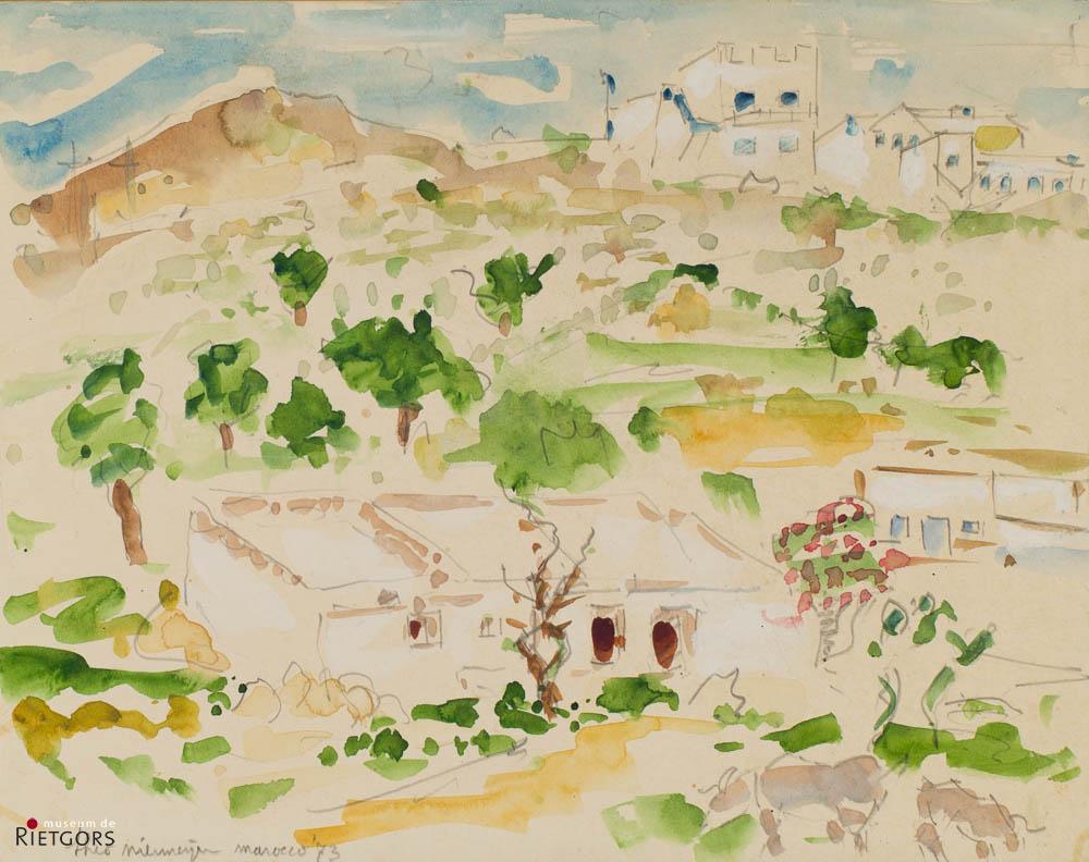 T. Niermeijer (1940-2005) - Marocco.