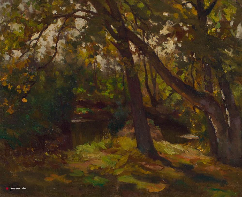 R. Larij (1855-1923) - Bos van Repelaer. Ges. L.O.