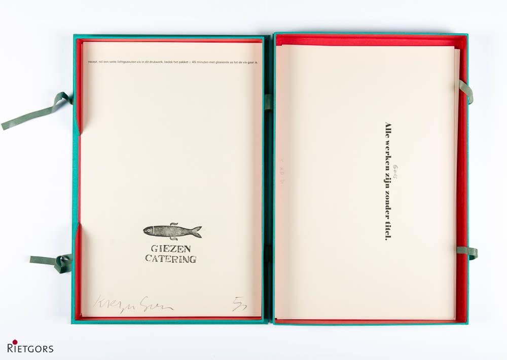 Mooi Werk Dordrecht - Poezie op papier. 1985.