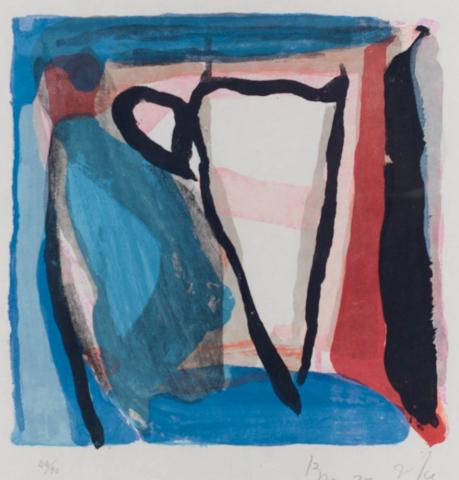 B. van Velde (1895-1981) - Centrée. Ges. R.O. en 22/90.