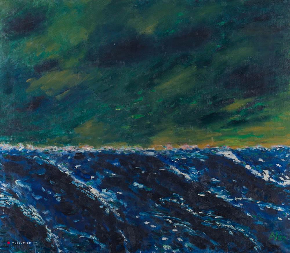 A. Visser - Ruwe zee. Ges. R.O. en '57.