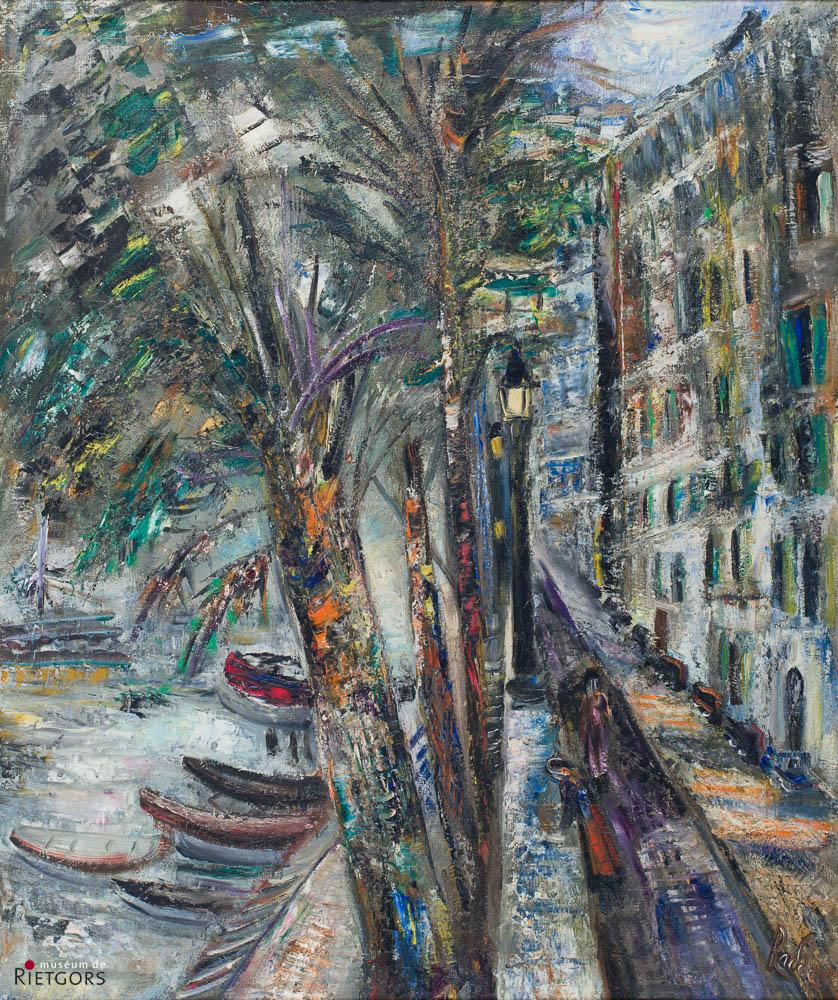 """Julie Florent ""Radda"" (1891- 1967)"" - Bord de la Seine. Ges. R.O."