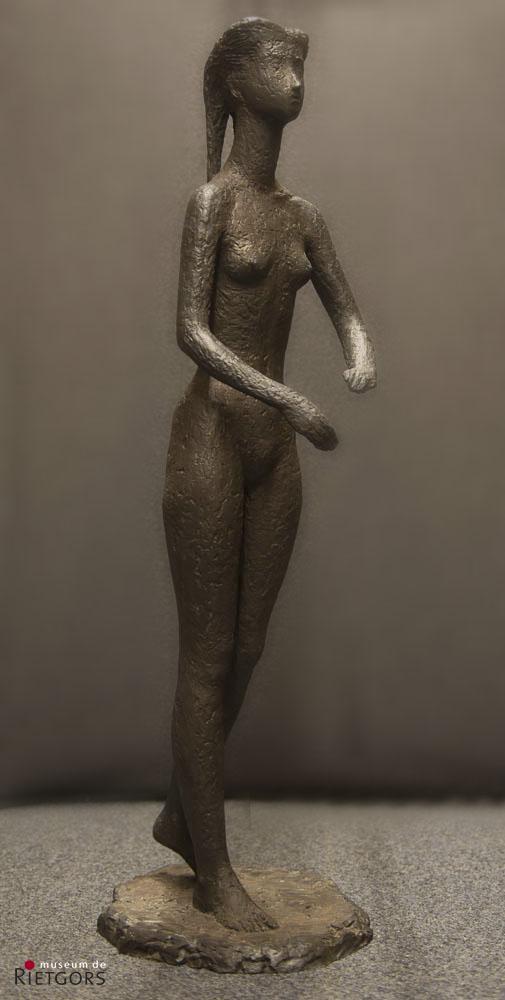 Titus Leeser (1903-1996) - Meisjesfiguur. Ges. en '52. 1/5.