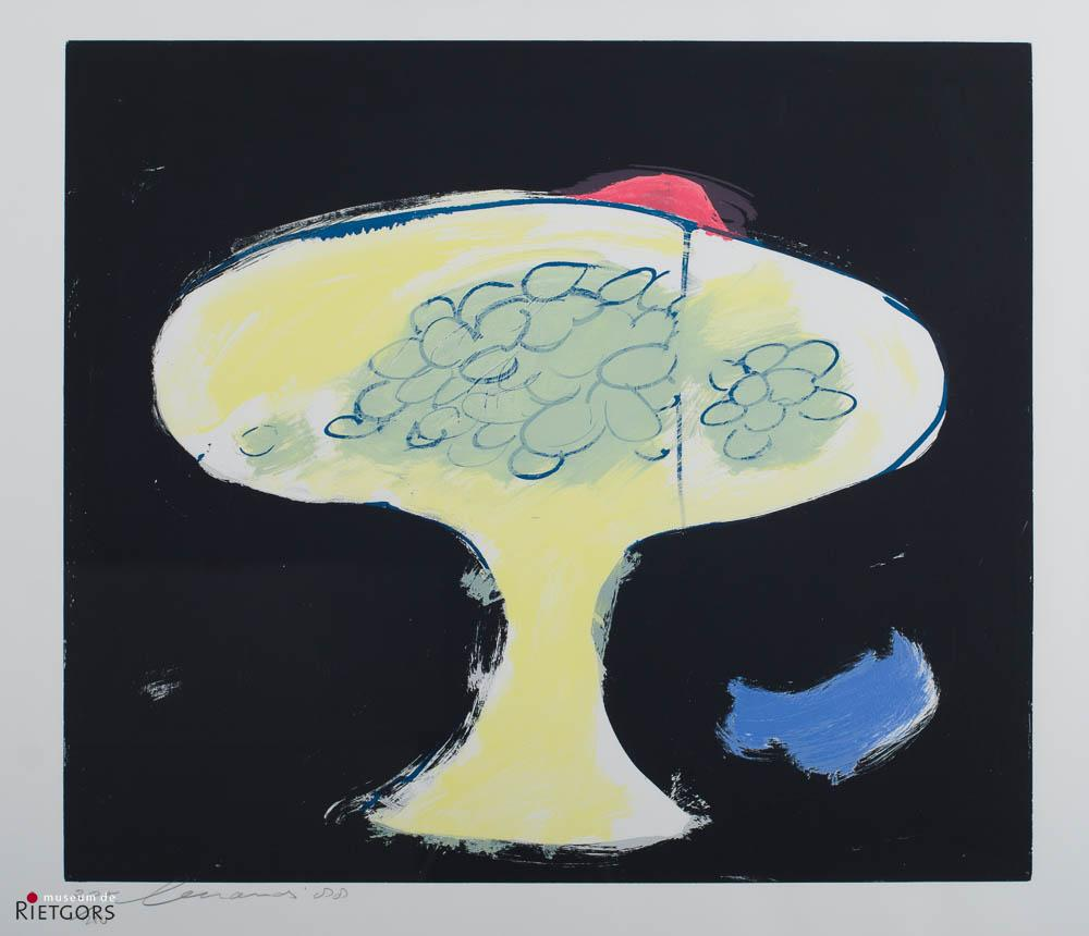 E. Brands (1913-2002) - Fruitschaal. Ges. L.O. en '88. 205/250.
