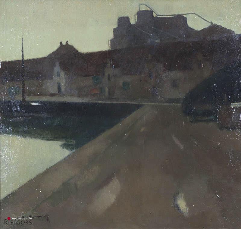 J. Kropff (1892-1979) - Slaoliefabriek Delft. Ges. L.O.