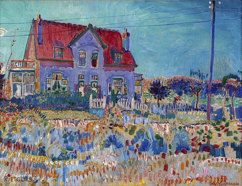 "Jan Sluijters (1881-1957) - ""Villa Vita Nuova te Laren. Ges. R.O. en 1910."""