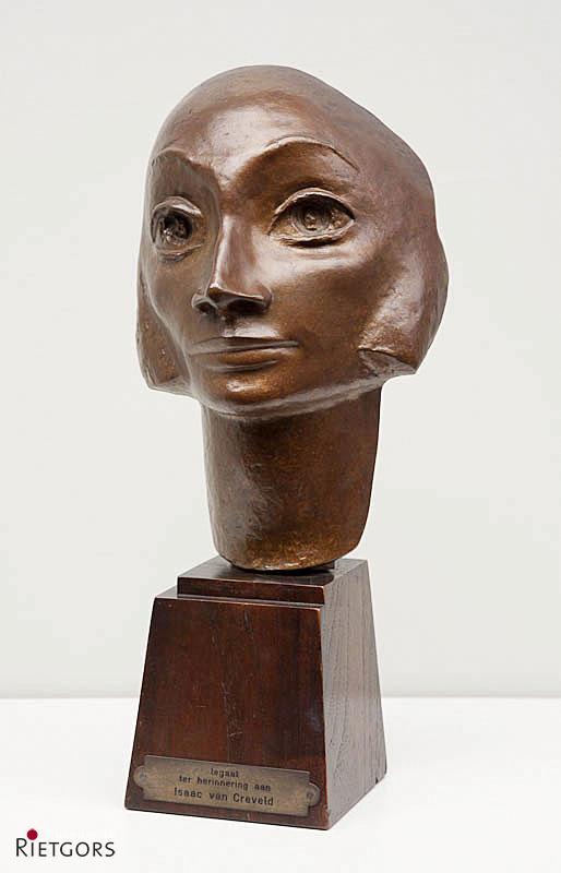 J. Raedecker (1885-1956) - Vrouwenkop Omstreeks 1920.