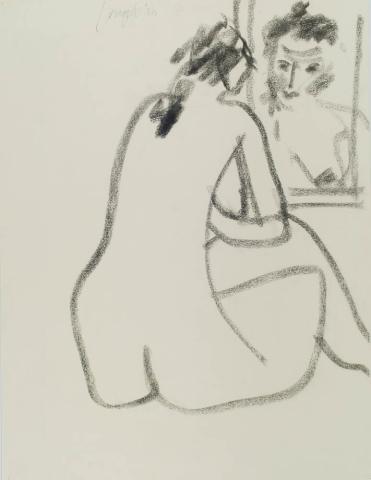 J. Jongert (1910) - Naakt I. Ges. L.B. en '80.
