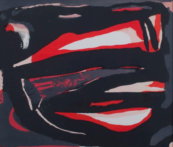 B. van Velde (1895-1981) - Abstractie. Ges.