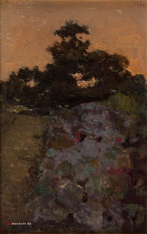 W.J. Schütz (1854-1932) - Landschap.