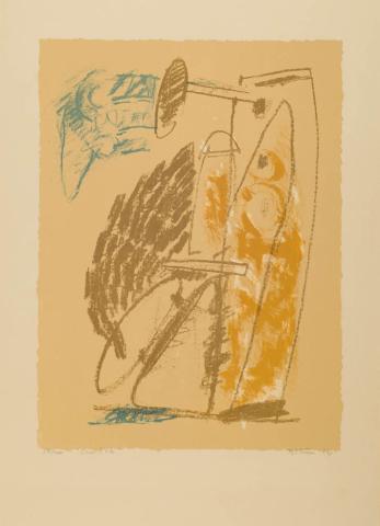 A. Bitran (1929) - Ocres d'Été. 57/100.