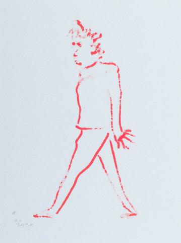 D. Henkes (1903-1989) - Balletdanser. Ges. L.O.