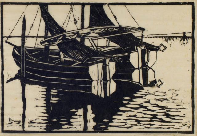 J. Kropff (1892-1989) - Bootjes
