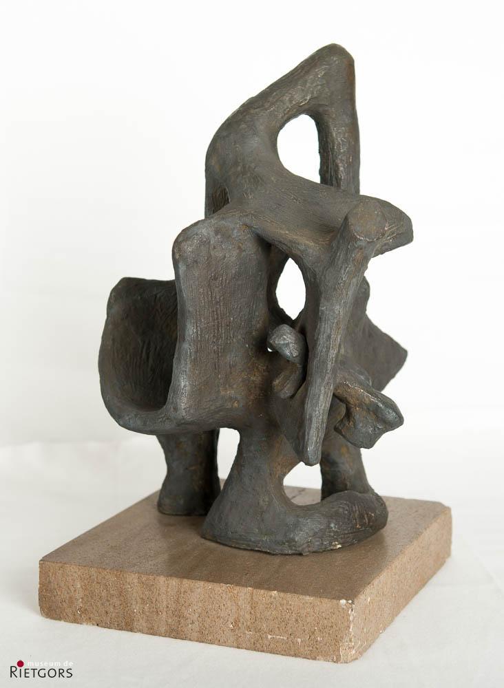 """Lotti v.d. Gaag (1923-1999) - """"Neusoog"""". Ges. en '75."""
