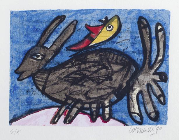 Corneille (1922) - Vogeltjes serie. Ges. en '90.