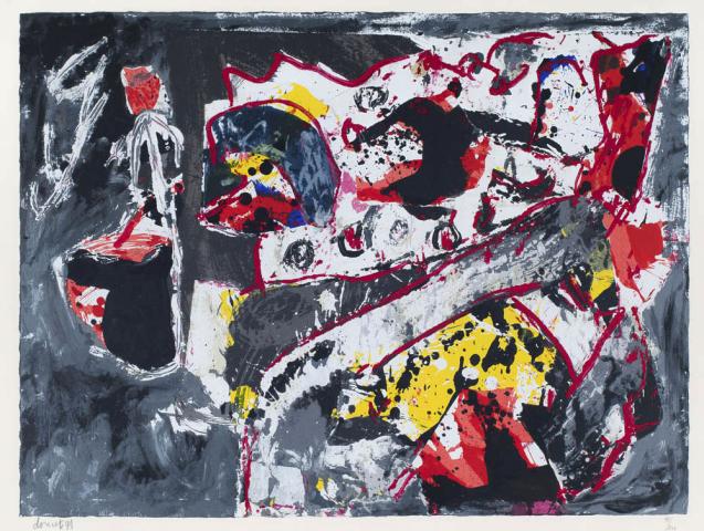 J. Doucet (1924-1994) - Étés à Saint Christol. Ges. L.O. en 98/200.