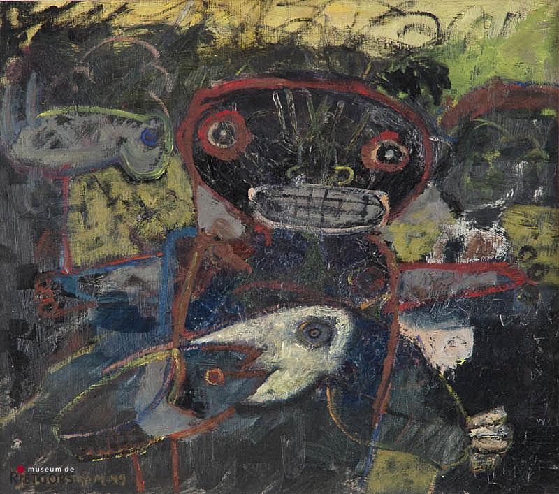 B. Lindström (1925-2008) - Maskers, Vogels en Vissen. Ges. L.O. en '49.