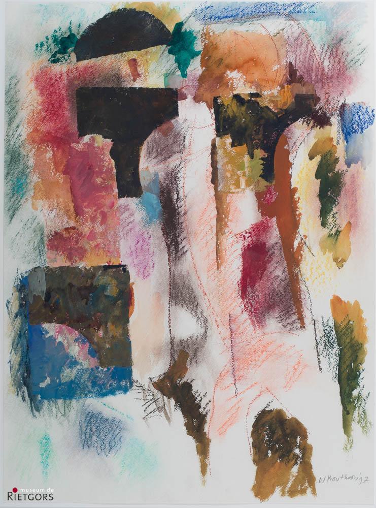 "W. Bouthoorn (1916-2004) - ""Amalgaan"". Ges. R.O. en '97."
