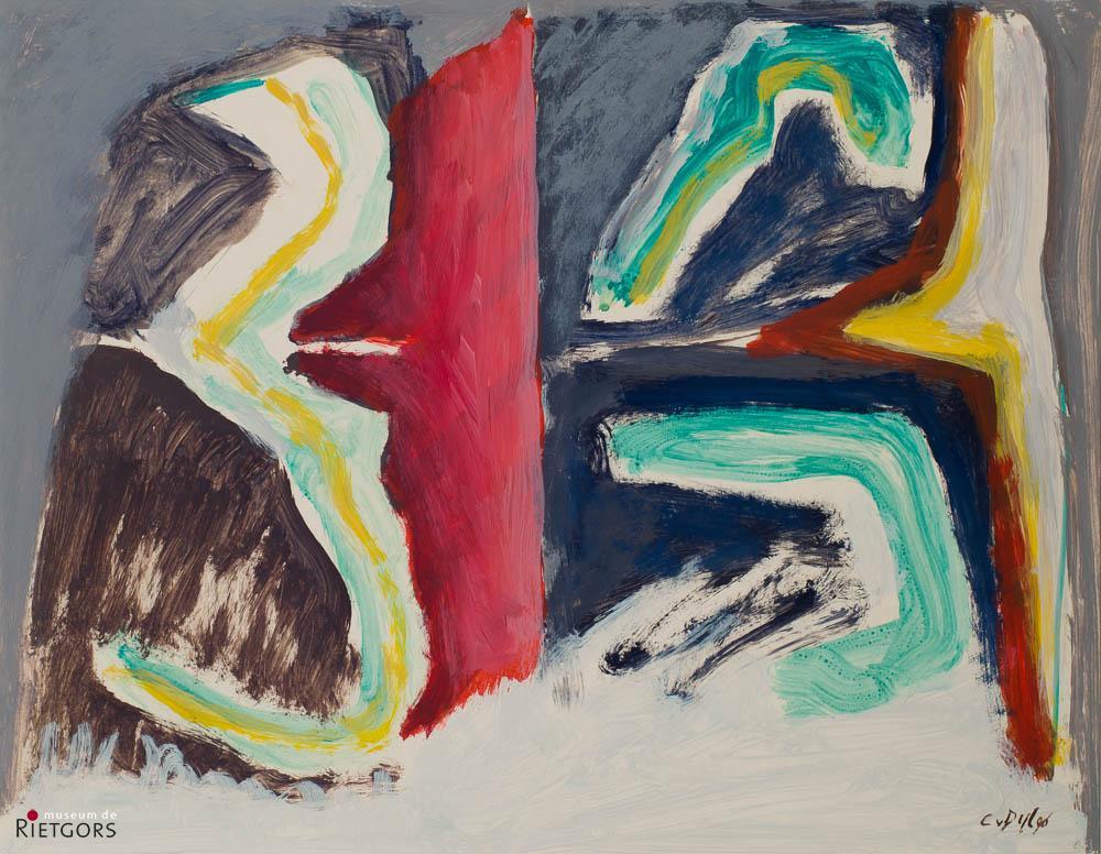 C. van Dijl (1934-2007) - Compositie. Ges. R.O.