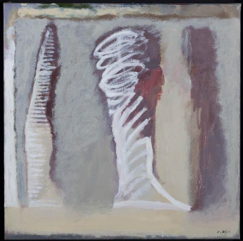 C. van Dijl (1934-2007) - Gezichten. Ges. R.O. en '98.