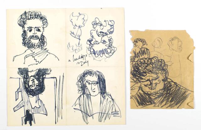 D. Henkes (1903-1989) - Portretten