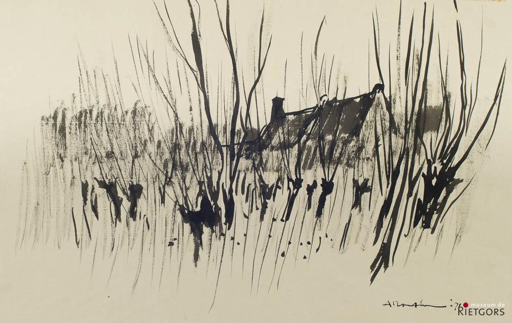 A. Mouthaan (1940) - Buitenpolder Groot Ammers